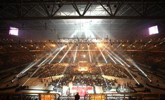 eps gmbh im Auftrag für die ESPRIT arena bei KlitschK.O. - In 30 Stunden vom TV-Spot zur Fußballarena