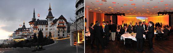 marbet organisiert erfolgreich das erste Ernst & Young - Entrepreneur Of The Year © Forum in Zürich