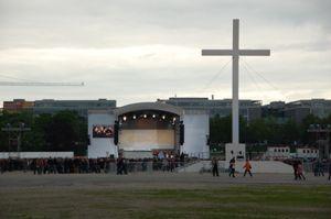 Megaforce realisiert Bühnenbau bei 2. Ökumenischen Kirchentag