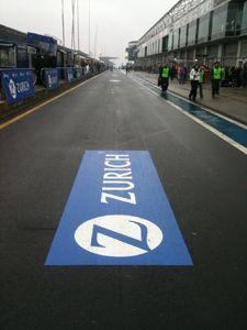 Asphaltfolien beim legendären 24h-Rennen auf dem Nürburgring