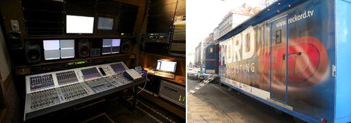Reckord setzt auf Riedel Artist In-tercom für den größten HD Ü-Wagen in Tschechien