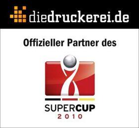 Onlineprinters GmbH ist offizieller Partner beim Supercup 2010