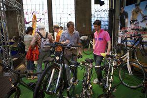 satis&fy unterstützte erste Frankfurter Fahrradmesse