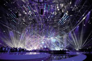Die A&O FALCONs strahlen im Eurovision Song Contest