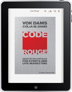 VOK DAMS CODE ROUGE jetzt auch im iBook-Store und Amazon-Kindle-Store erhältich