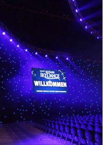 LED-Sternenhimmel CHAMELEON auf der größten Musik- und Tanzshow der Welt!