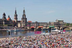 satis&fy verantwortet Licht und Ton beim Kirchentag in Dresden