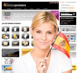 Onlineprinters GmbH geht mit spanischem Webshop online