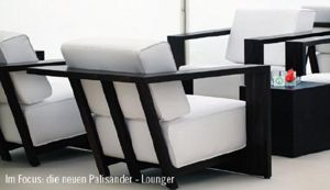 Einsatzpremiere der neuen Palisander-Möbel