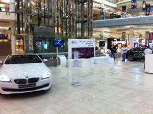 EFM event logistics supportet Roadshow-Projekt in Golfstaaten