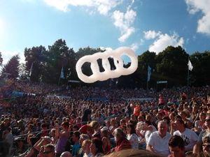 FLOGOS für Audi auf dem rs 2 Sommerfestival