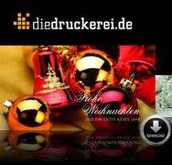 Weihnachtskarten aus dem Onlineshop von diedruckerei.de