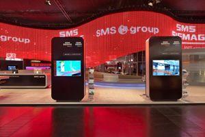 Messestand der Superlative: SMS Group auf der METEC 2011