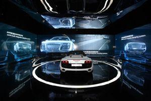 Markteinführung des Audi R8 Spyder in Peking und Shanghai