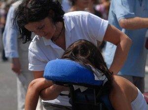 Forum VIA Kongress ganz entspannt – mit mobiler Massage