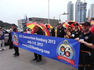 """Lions Clubs International Convention"" 2013 in Hamburg"