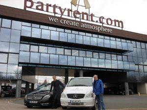 Party Rent startet mit Fuhrparkmanagement durch