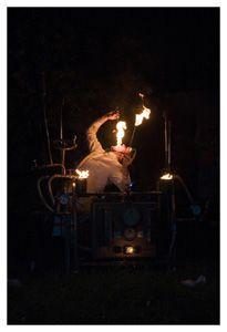 Premiere: Theatrale Feuershow von mosaique