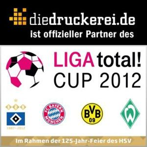 diedruckerei.de ist offizieller Partner des LIGA total! CUP 2012