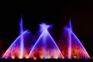 Aquanario - Europas größtes mobiles Wasserspektakel in Berlin