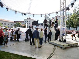 eps liefert Infrastruktur für die Feierlichkeiten zum Tag der deutschen Einheit 2012