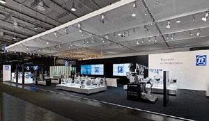 ZF Friedrichshafen – eindrucksvolle Messe-Highlights im September 2012