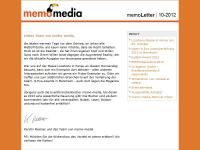 memoLetter 10.2012