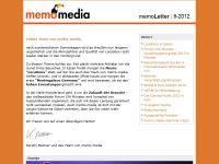 memoLetter 09.2012
