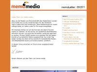 memoLetter 09.2011