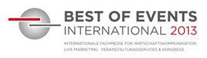 Best of Events International 2013 - Kompetenz der Eventindustrie im Dialog