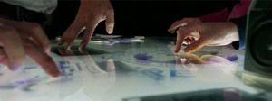 Neu bei der LK-AG: Multitouch Displays MultiTaction® - Schnell bei uneingeschränkter Touch Point Erkennung