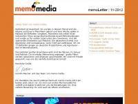 memoLetter 11.2012