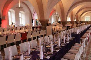 Legendäre Riesling Gala im Klostergut Eberbach von Party Rent ausgestattet