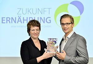 PACE für ESSENTIA mit Award Zukunft Ernährung ausgezeichnet