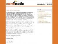 memoLetter 12.2012