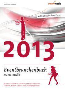 Eventbranchenbuch 2013 ab Januar kostenfrei erhältlich