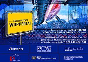Eventpartner Wuppertal auf der Best of Events