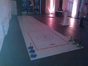 Winter-Event: Eisstockschießen - Fun-Curling - Snowboard-Simulator mieten