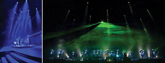 SANOSTRA präsentiert LED Drummers: Leuchttrommeln – Leuchtkostüme – Handlaser