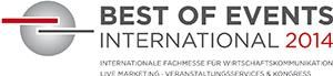 Be part of it: BEST OF EVENTS INTERNATIONAL 2014!