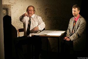 Étienne Gillig produzierte Gastspiel im Münchner Theater Blaue Maus