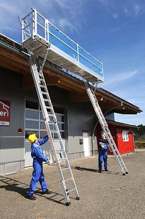 Bavaria-Leitern-Blitzgerüst SL: Auf die Plätze – fertig – hoch!