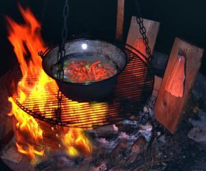 Art & BALANCE  - Kochen am Feuer