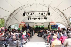 Offizielle Eröffnung der Gartenschau in Sigmaringen