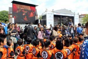 600.000 Besucher beim Japan-Tag mit LBF-Filmproduktion wie in der 1. Reihe