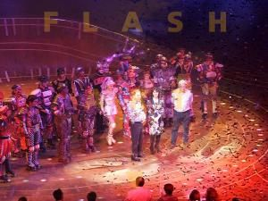 25 Jahre Starlight Express in Bochum mit FLASH ART®