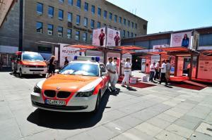 mo systeme unterwegs mit dem Deutschen Roten Kreuz
