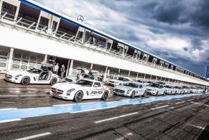 b&b eventtechnik am Hockenheimring für AMG im Einsatz