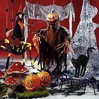 Dekospezialist Woerner – Gespenster, Spinnen und Hexen – Gänsehaut-Deko für Halloween