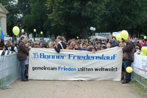 eps gratuliert zum 10jährigen Jubiläum des Bonner Friedenslaufs